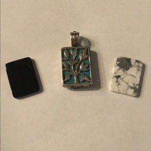 Retired Silpada .925 Sterling Silver Pendant